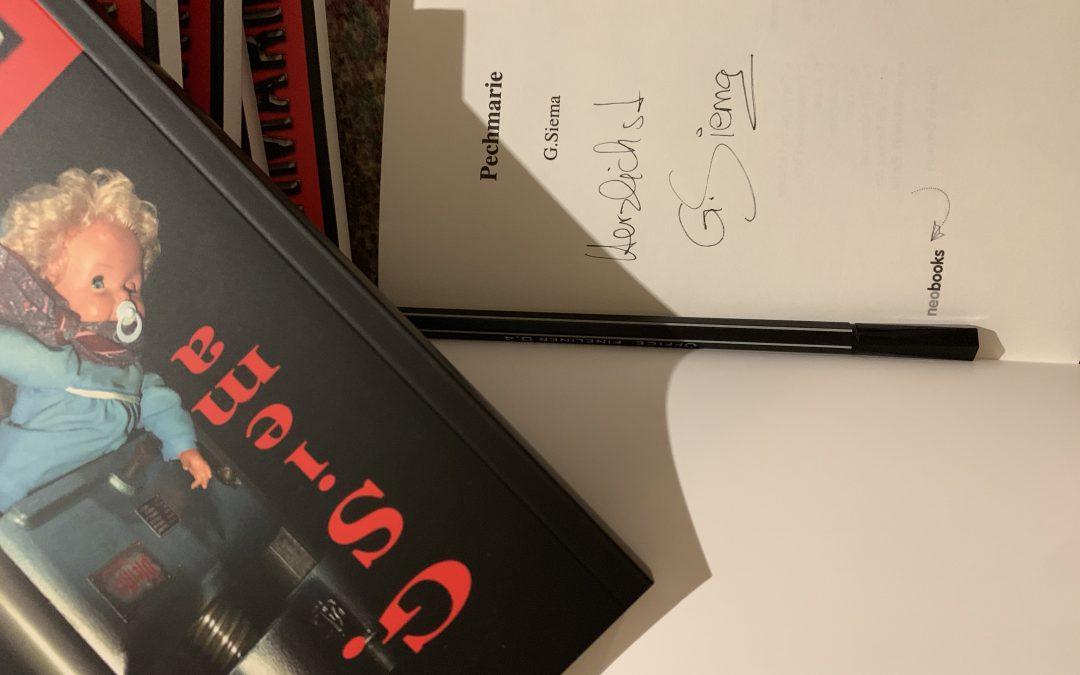 Signieren für die Leipziger Buchmesse